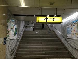 乃木坂駅5番出口