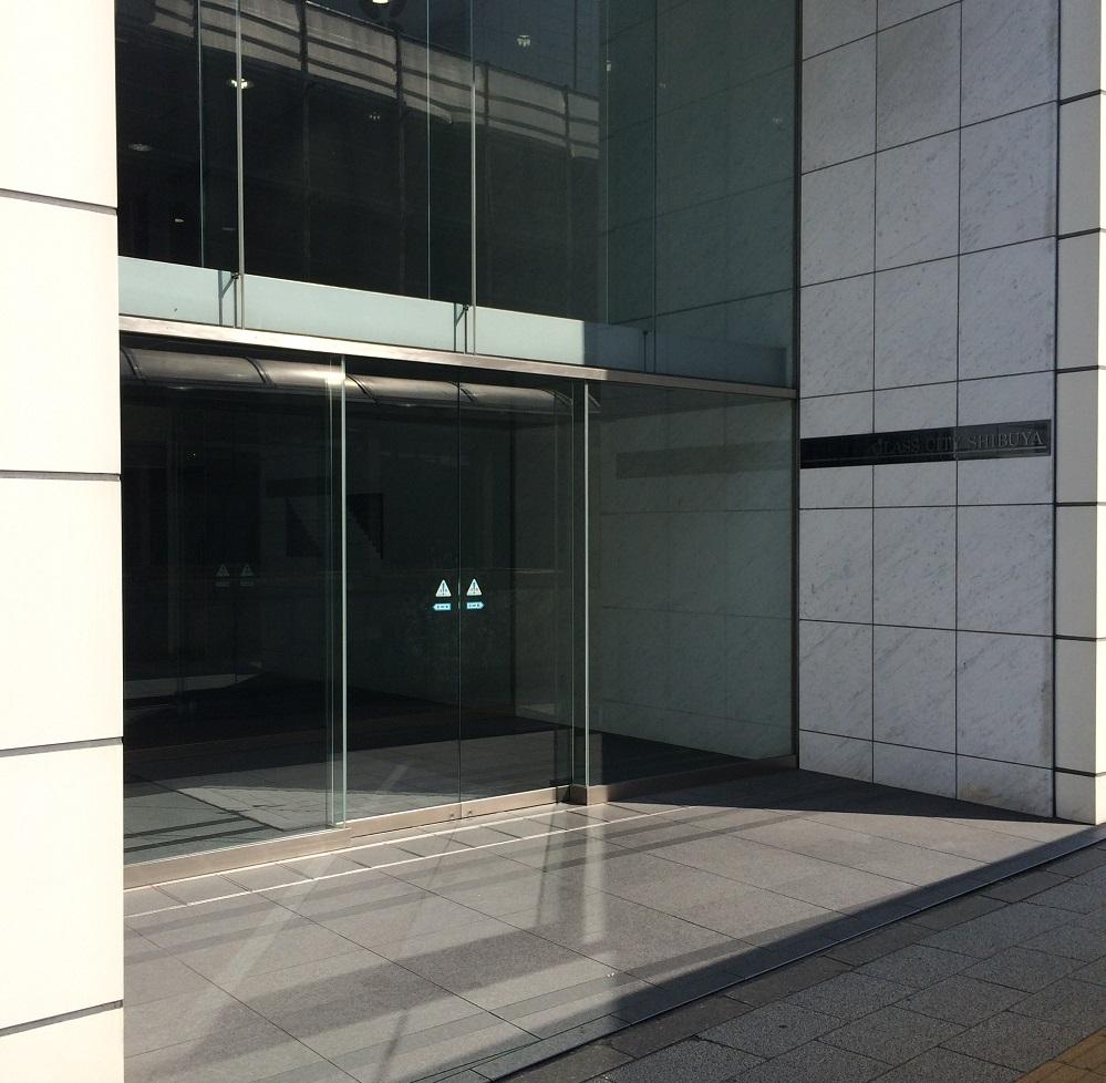 渋谷グラスシティ_エントランス