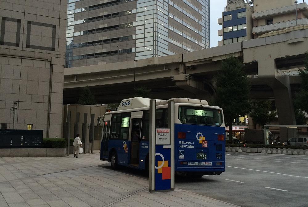 新宿パークタワー_バス2
