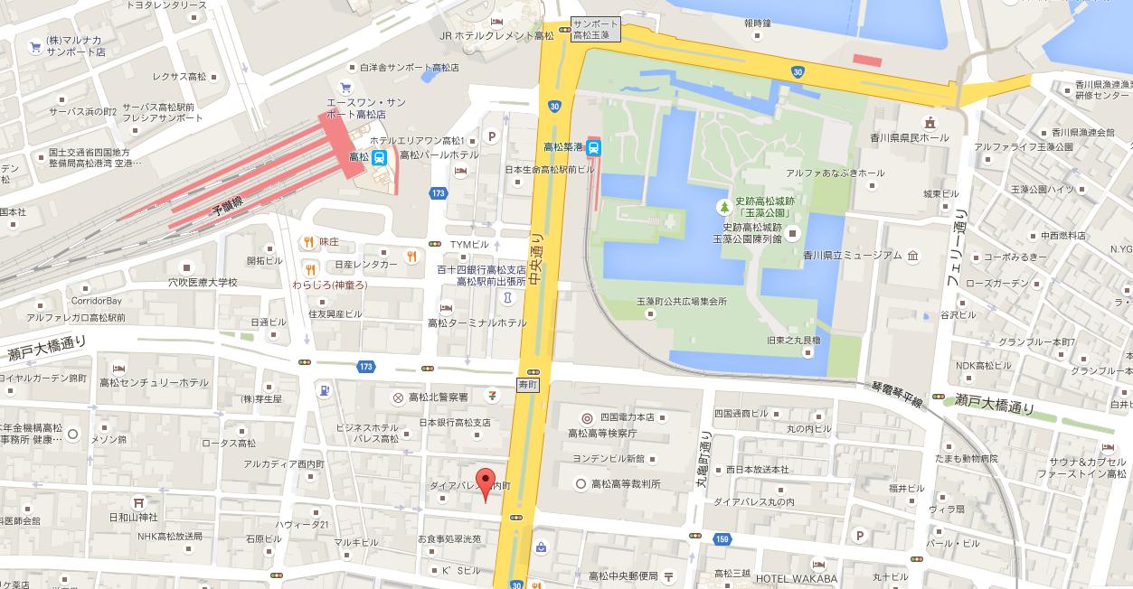 リージャス高松ビジネスセンター_四国香川県高松レンタルオフィス