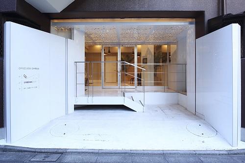 オープンオフィス日本橋箱崎_エントランス