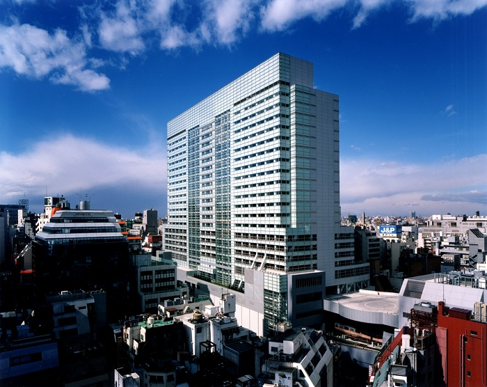 渋谷マークシティ外観