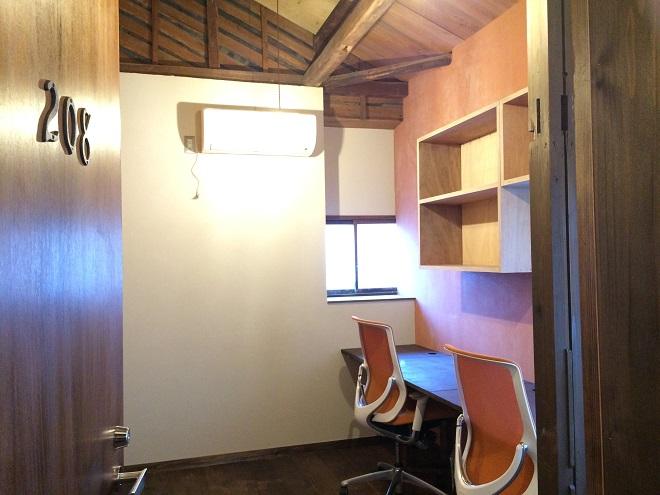 ベースポイントオフィスは新宿・西新宿のレンタルオフィス格安の10万円程で個室レンタルオフィス_208個室レンタルオフィス