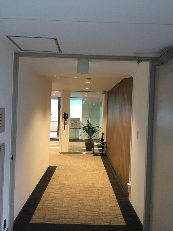リージャス広尾は恵比寿・広尾・麻布エリアのレンタルオフィス・シェアオフィス_廊下