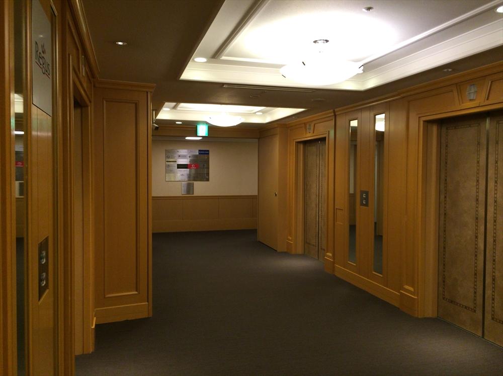 リージャス日比谷帝国ホテルタワー_エレベーター1