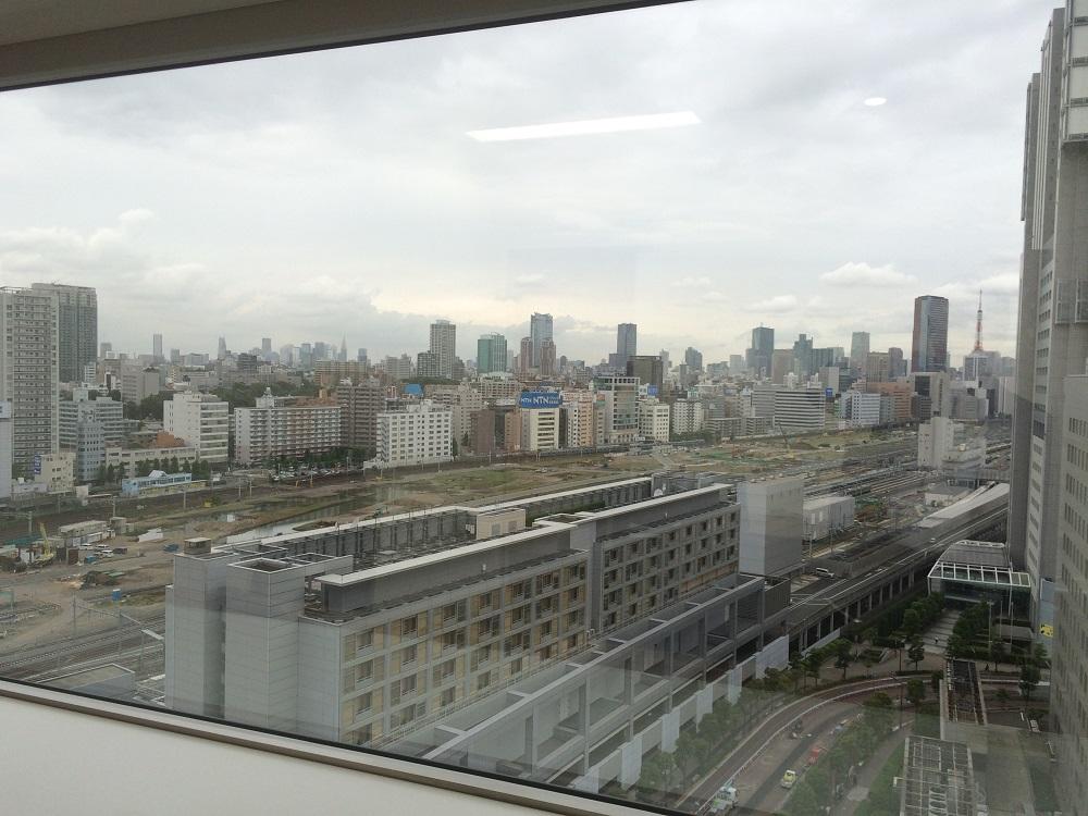 エキスパートオフィス品川_個室の窓からの景色
