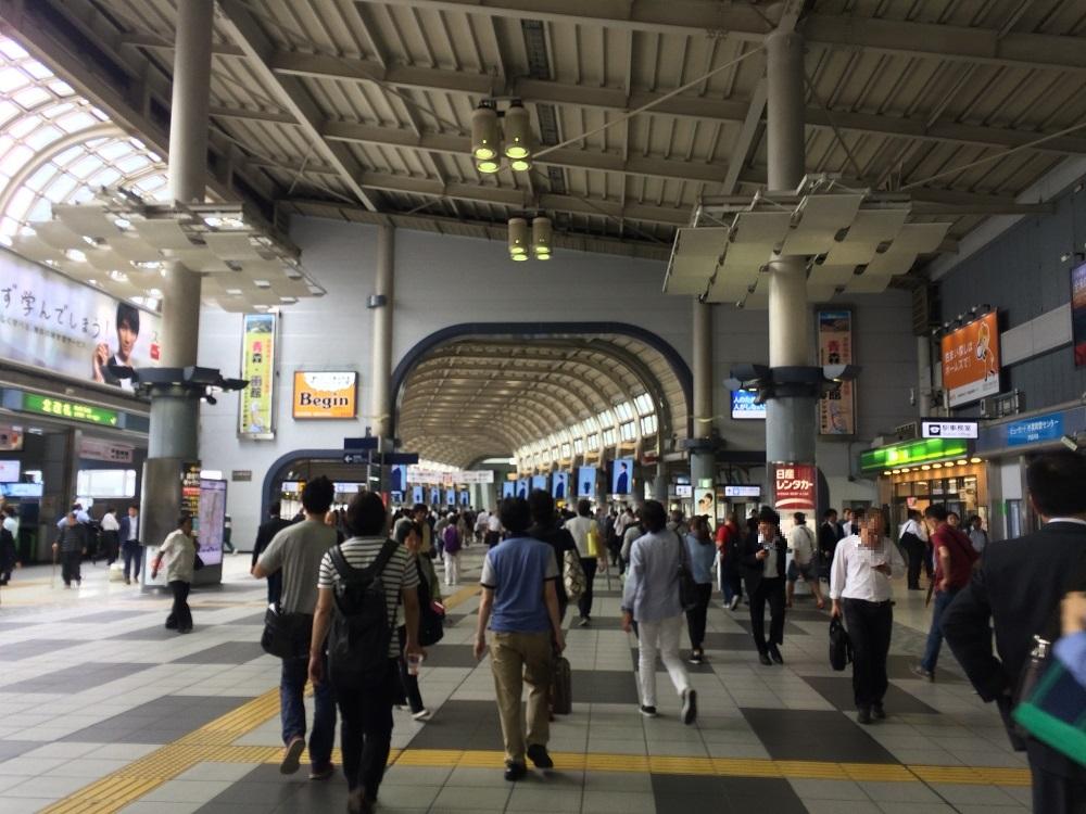 エキスパートオフィス品川_品川駅デッキ