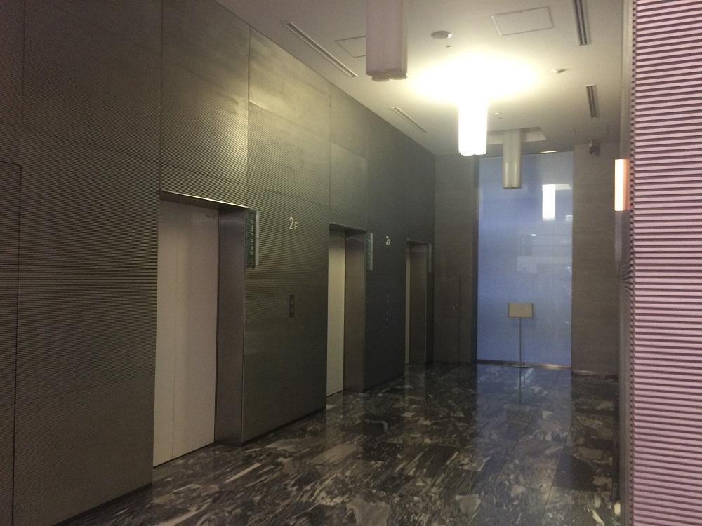 エキスパートオフィス品川_2Fエレベーター前