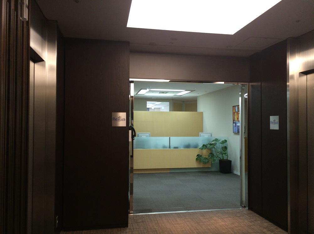 リージャス神谷町MTビル_個室レンタルオフィス_エントランス