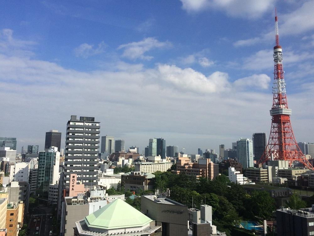 リージャス神谷町MTビル_個室レンタルオフィス_東京タワーアップ