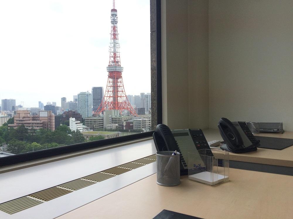リージャス神谷町MTビル_個室レンタルオフィス_東京タワー