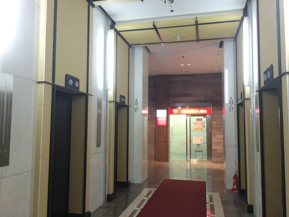 リージャス大阪国際ビル_エレベーター