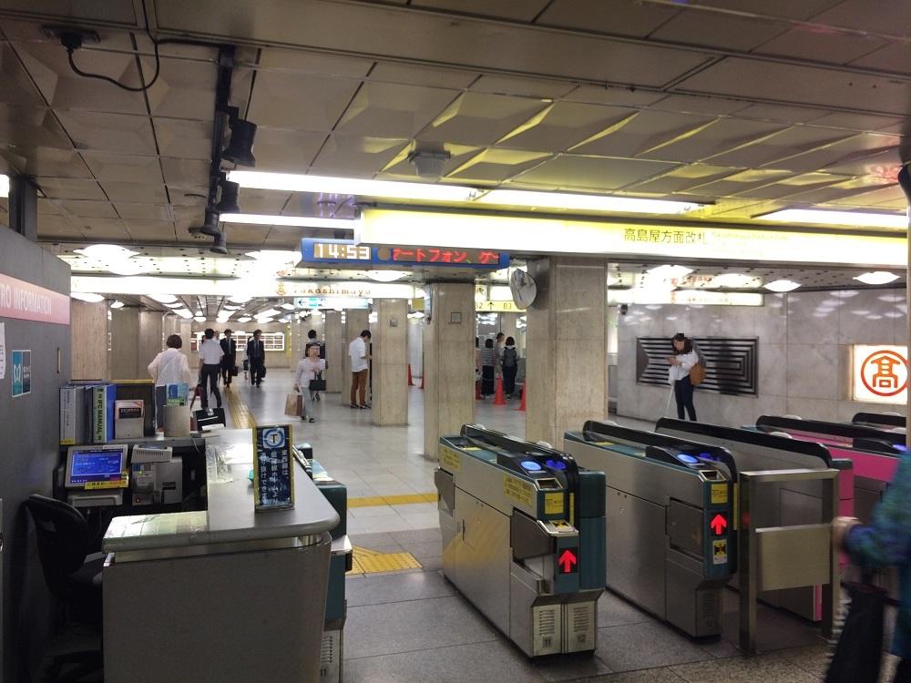 TRIEL東京(トリエル)_日本橋駅改札