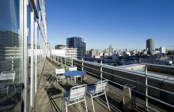 オープンオフィス渋谷hills_バルコニー