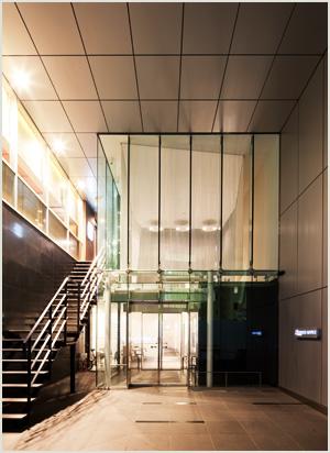 クロスオフィス渋谷_エントランス