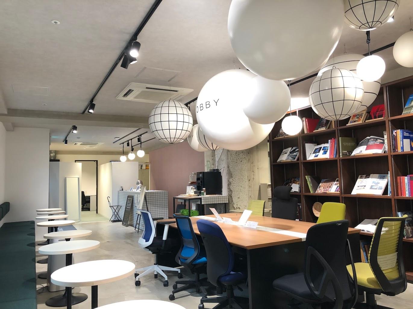 LOBBY_長堀橋コワーキングスペース_長堀鶴見緑地線_オフィス空間