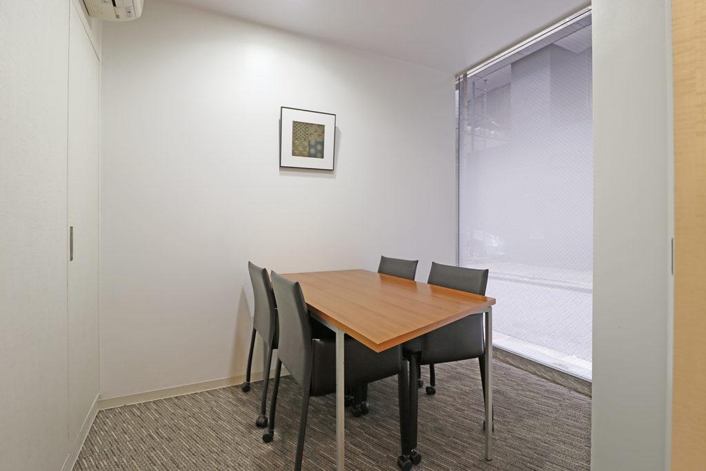 中央区のバーチャルオフィス_日本橋茅場町ビジネスセンターの会議室