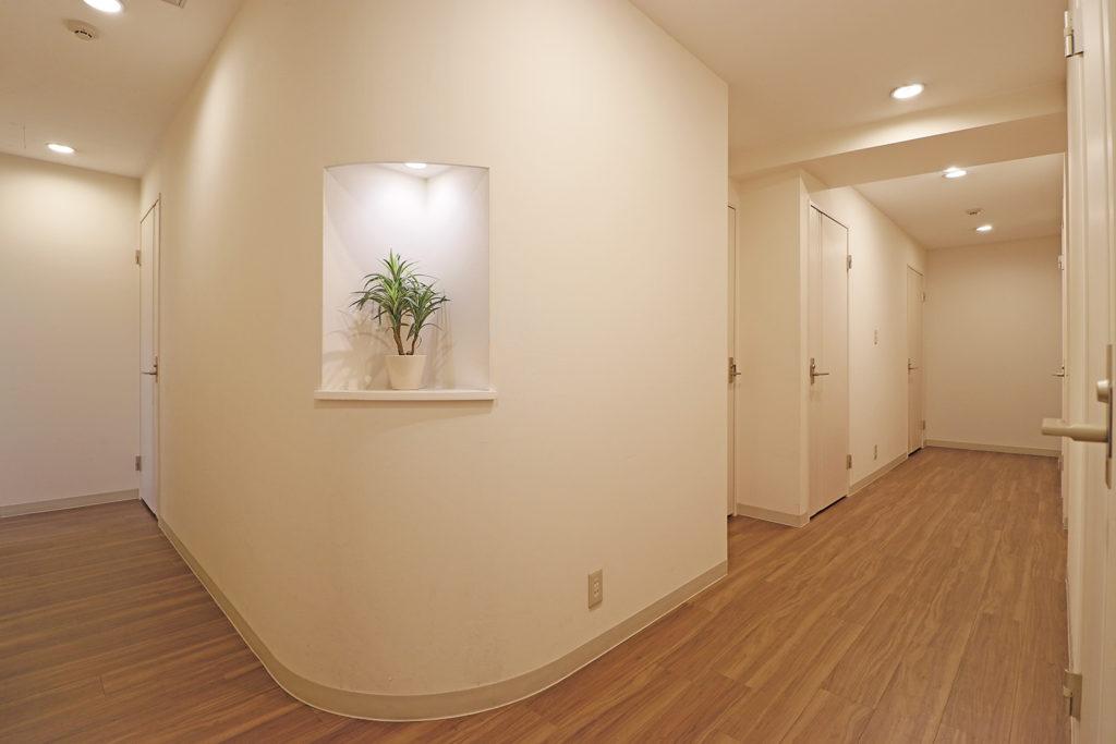 中央区のバーチャルオフィス_日本橋茅場町ビジネスセンターの廊下
