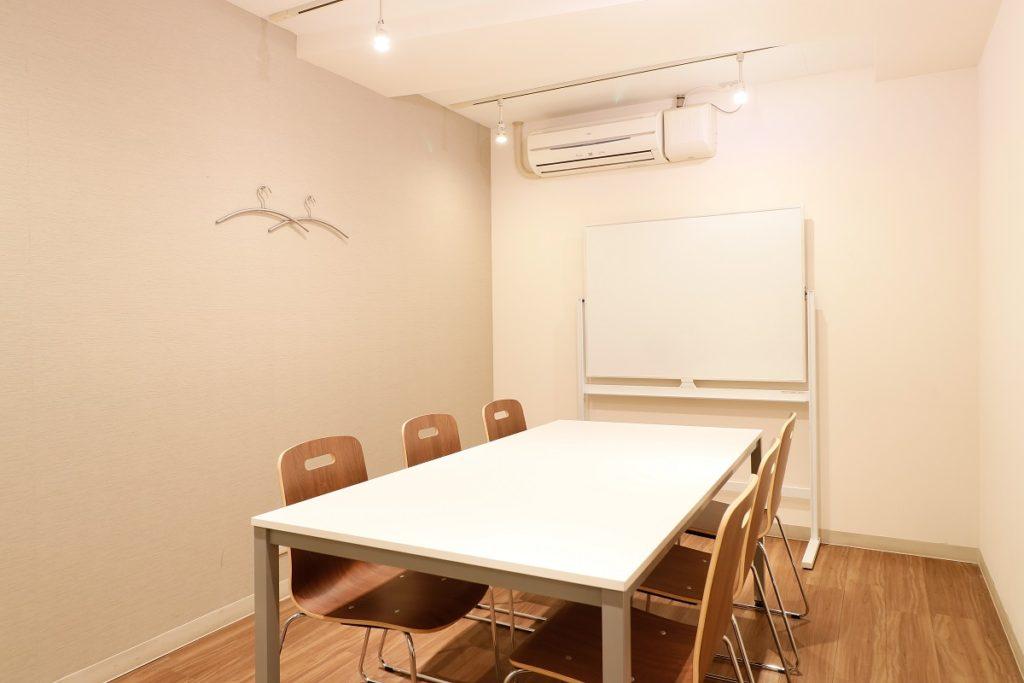 中央区のバーチャルオフィス_日本橋茅場町ビジネスセンターの会議室2