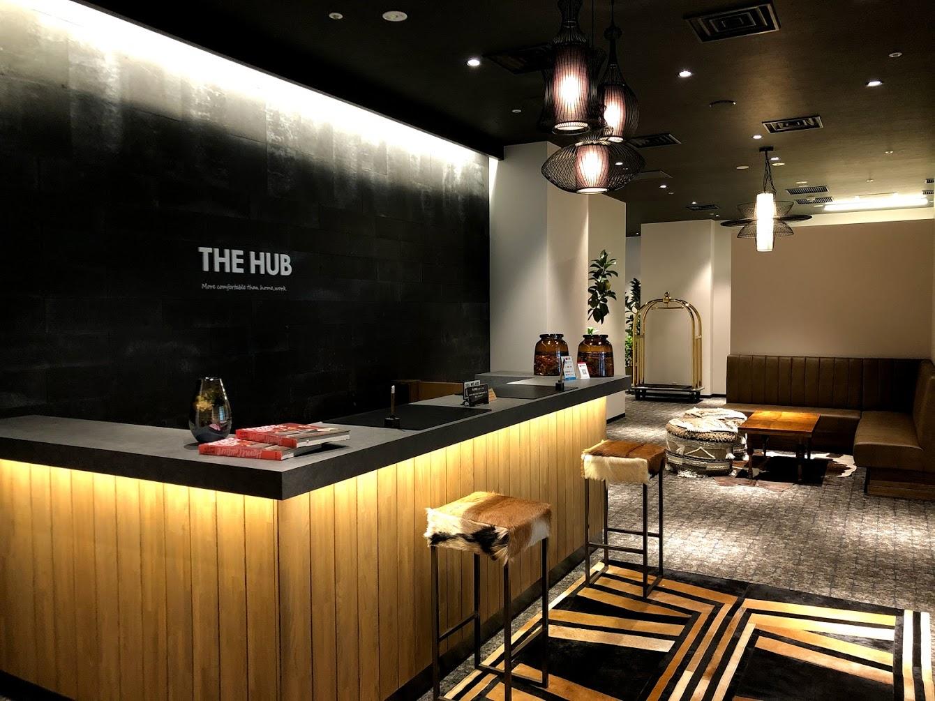 the hub新宿ワシントンの受付_外観写真_photo