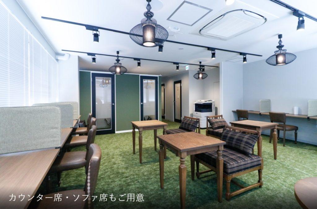 町田コワーキングスペース_the hub solo町田_ラウンジ