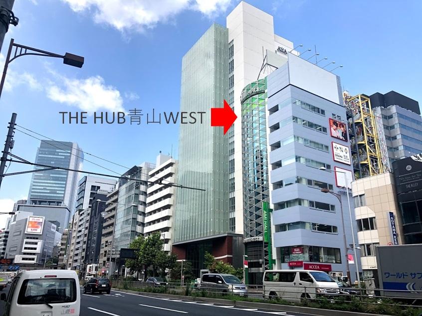 THE HUB 青山WEST_アクセス