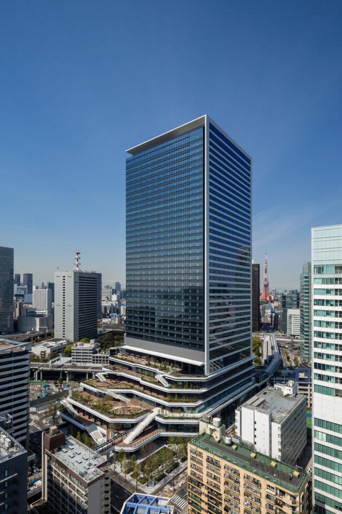 ビジネスエアポート竹芝が入る東京ポートシティ竹芝オフィスタワー