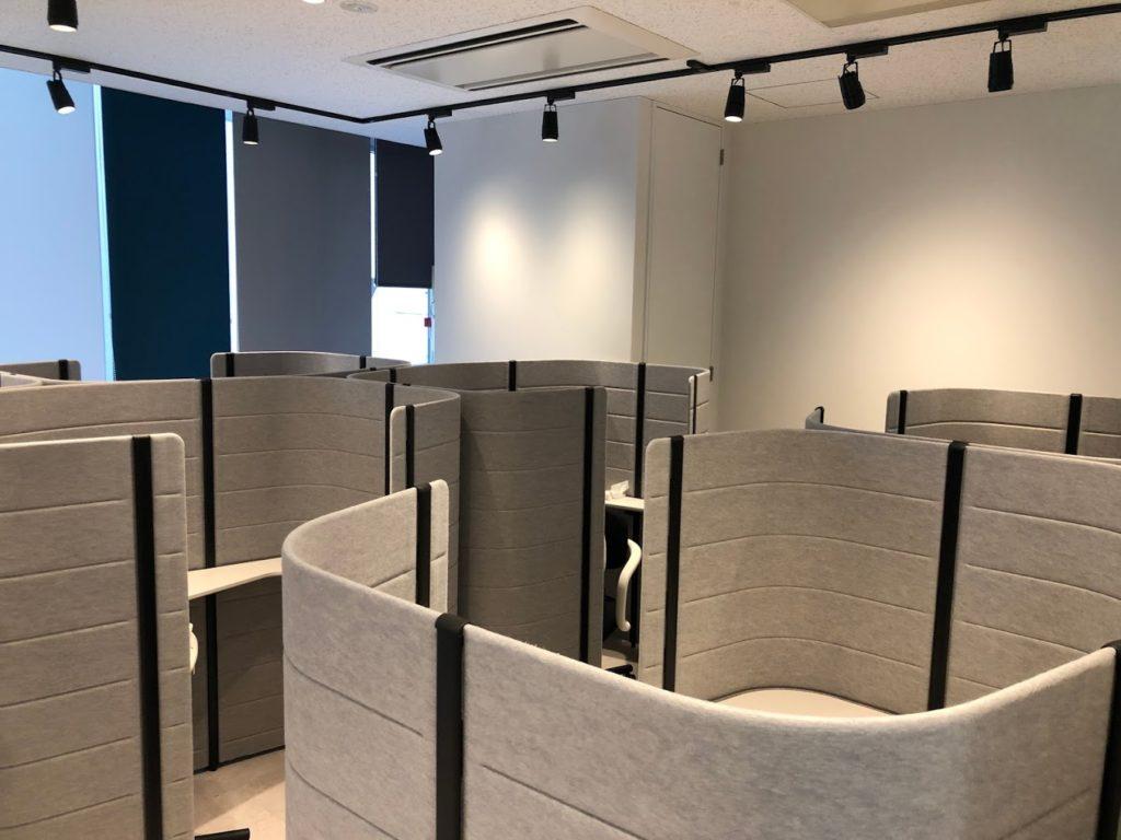 クロスオフィス渋谷_コワーキングスペース_半個室