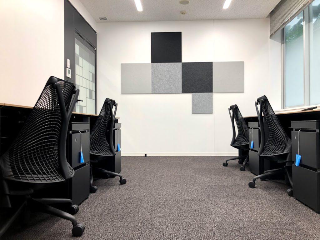 クロスオフィス渋谷_5名個室レンタルオフィス