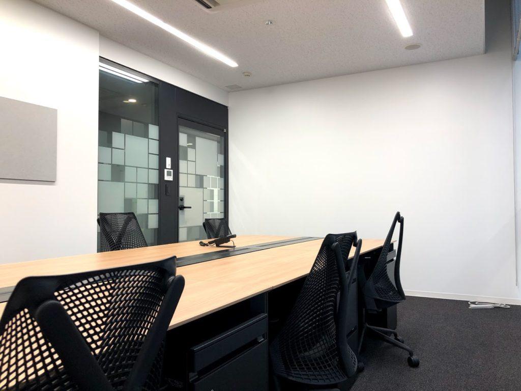 クロスオフィス渋谷_6名個室レンタルオフィス