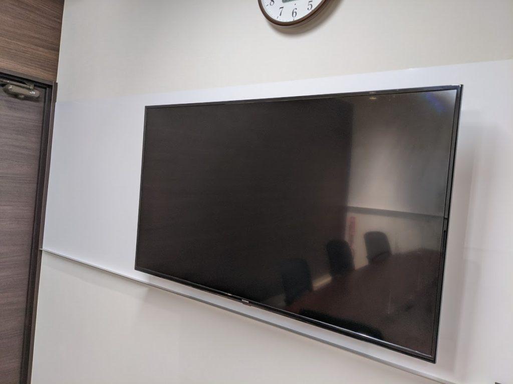 ビズコネクト新宿のバーチャルオフィスにあるモニター