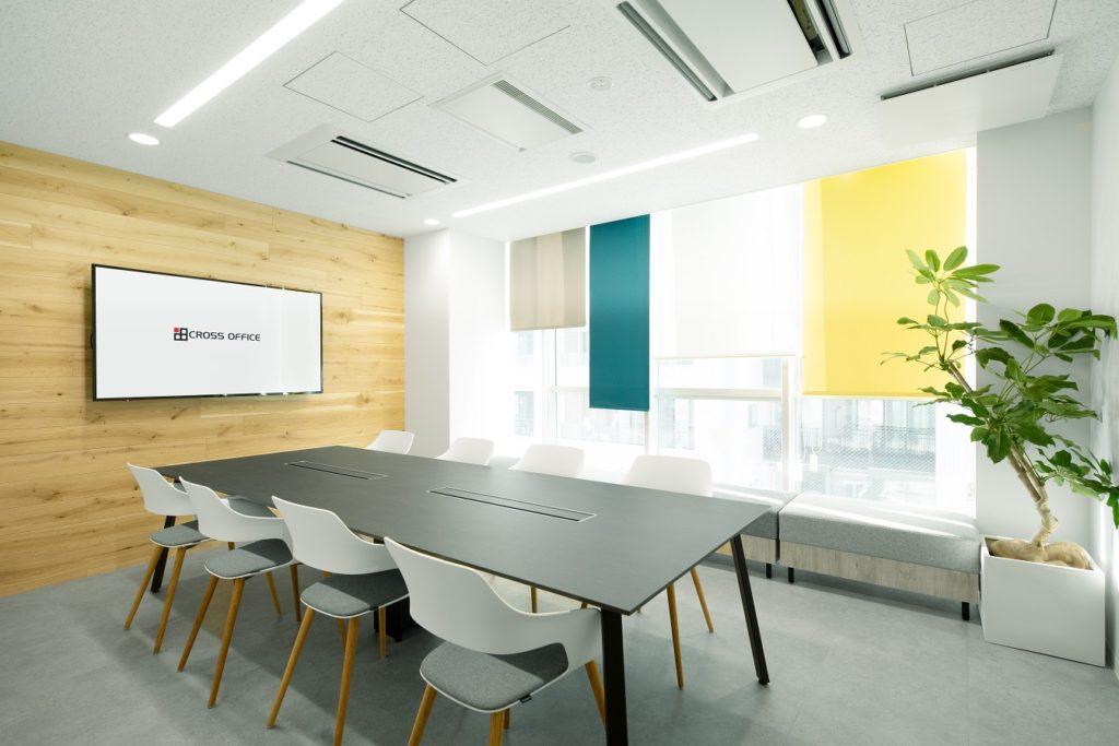 クロスオフィス渋谷の会議室