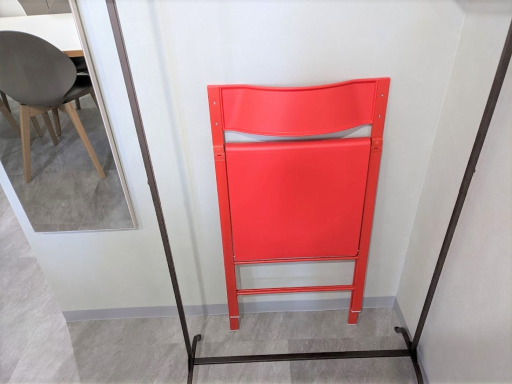 ワンストップビジネスセンター虎ノ門のオフィス備品_補助椅子
