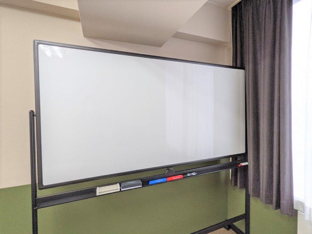 ワンストップビジネスセンター広島_会議室の備品_ホワイドボード