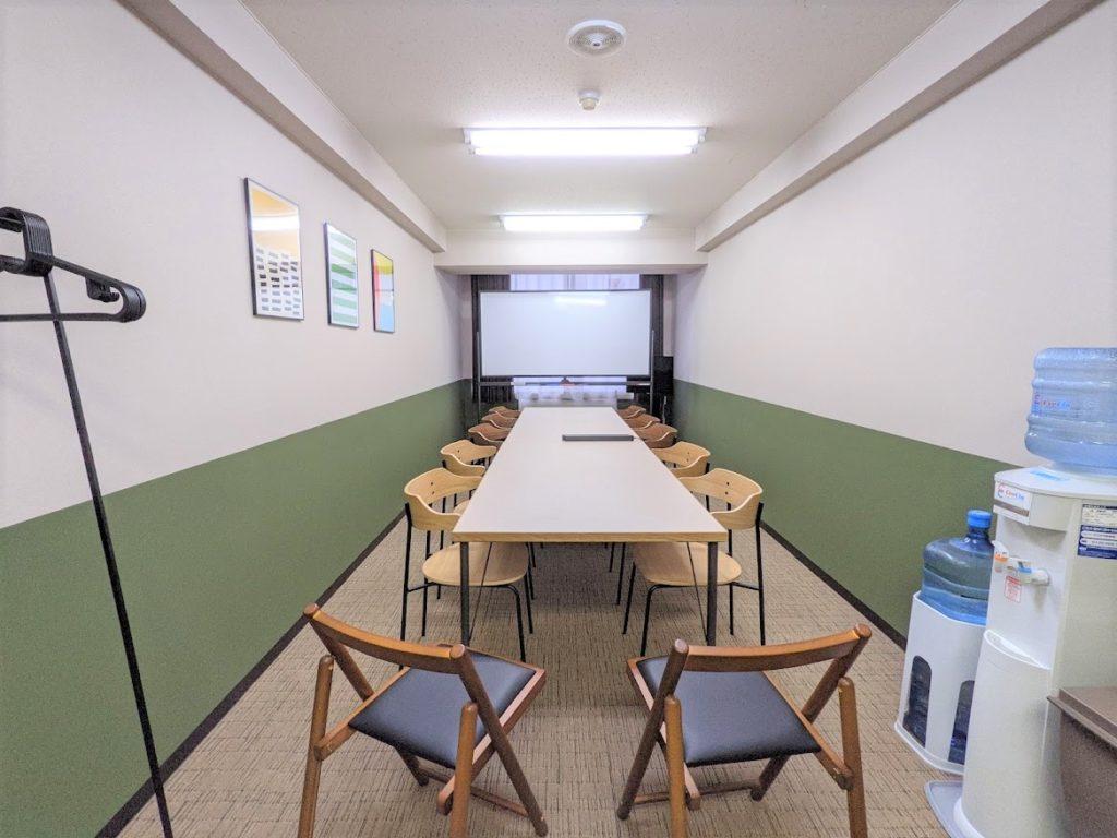ワンストップビジネスセンター広島_会議室の12名席