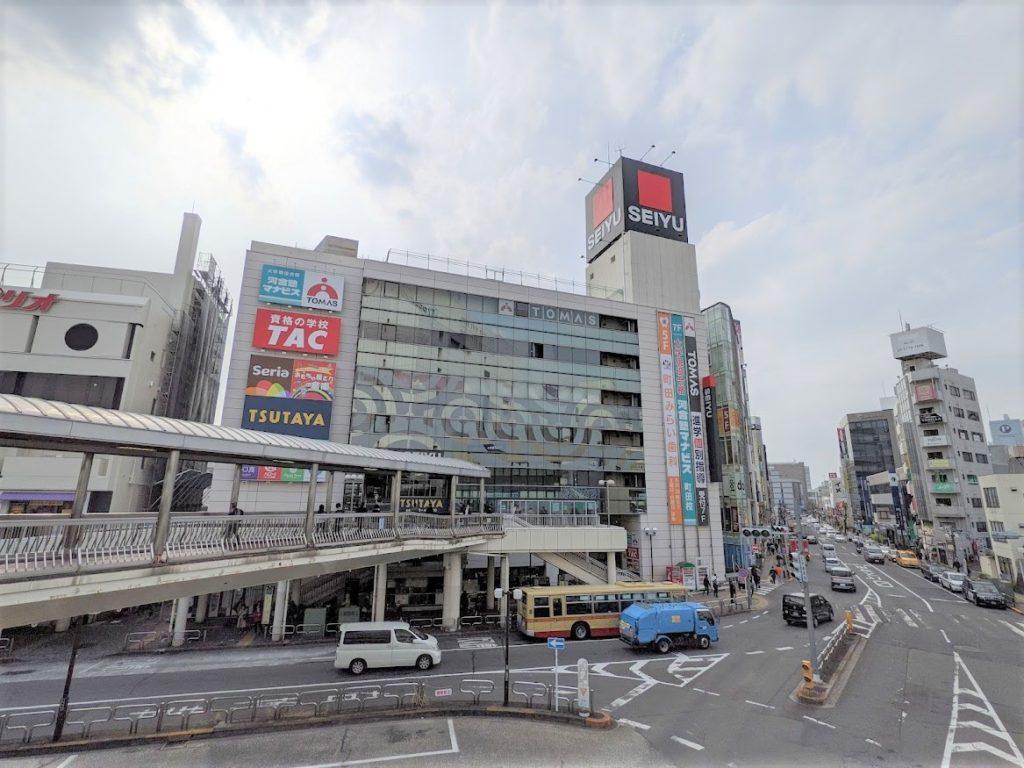 WorkOn西友町田の場所