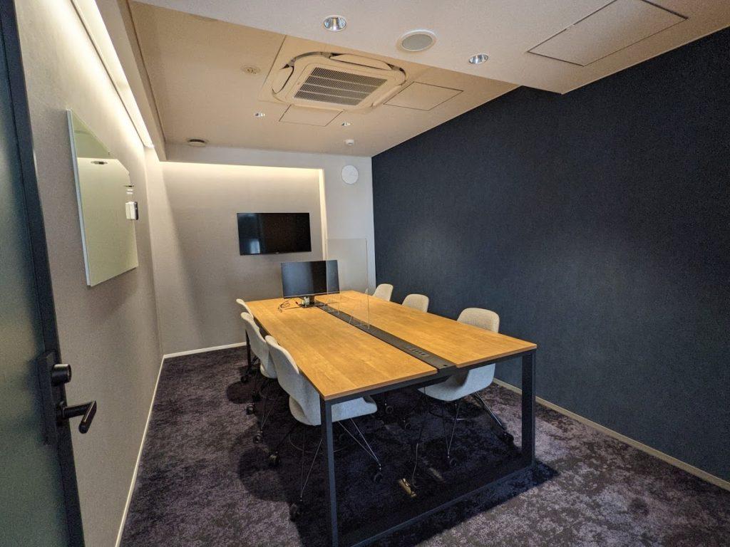 midpoint川崎_個室の会議室