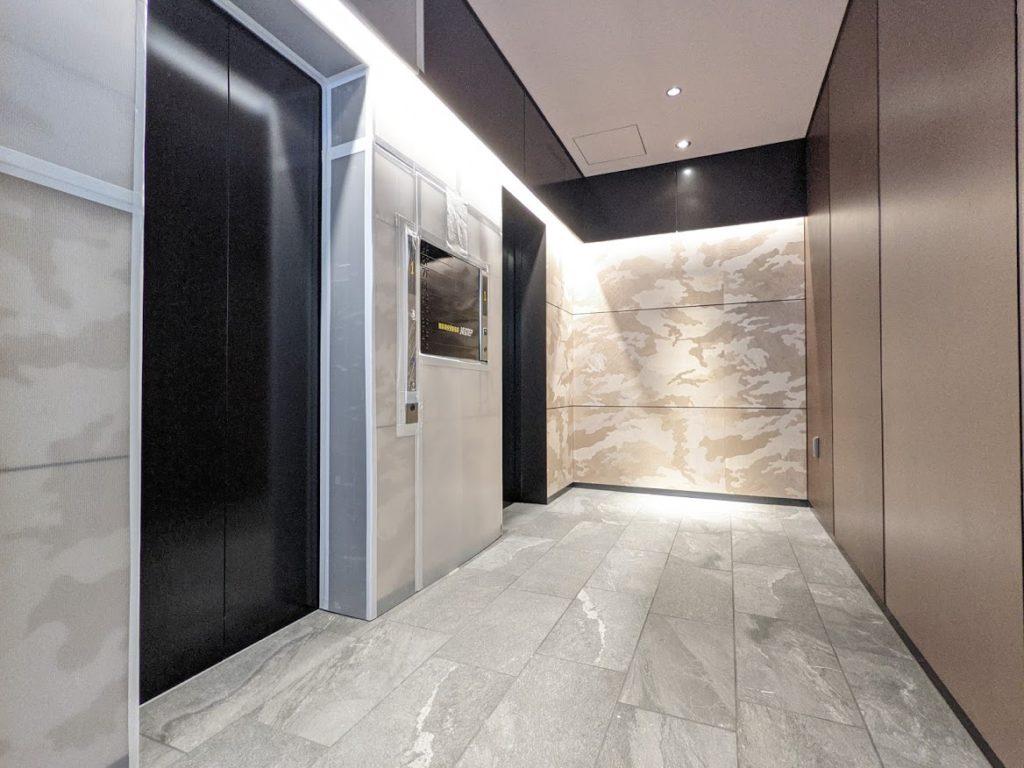 midpoint川崎のエレベーター