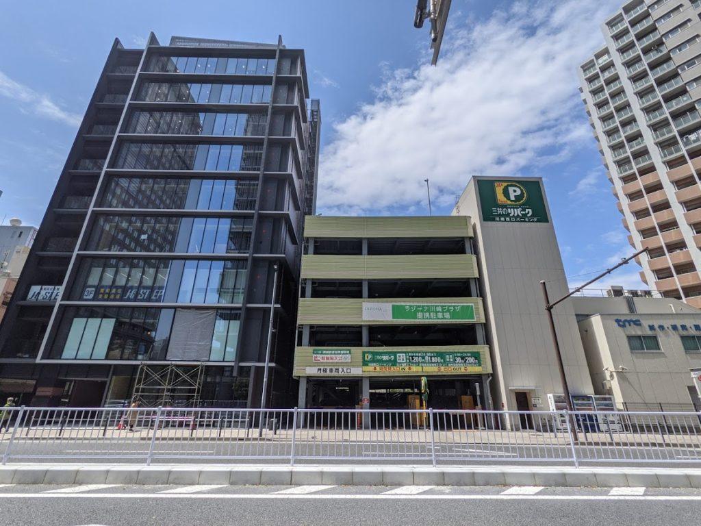 midpoint川崎_三井のリパークの駐車場