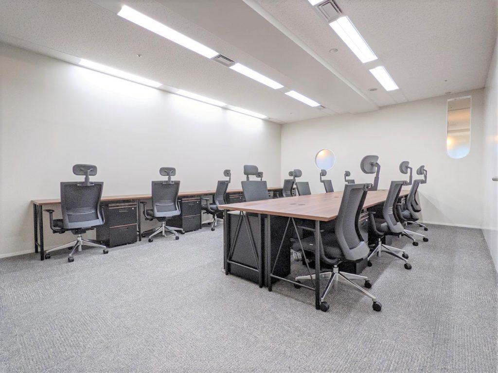 ビジネスエアポート日比谷_個室サービスオフィス_個室_13名