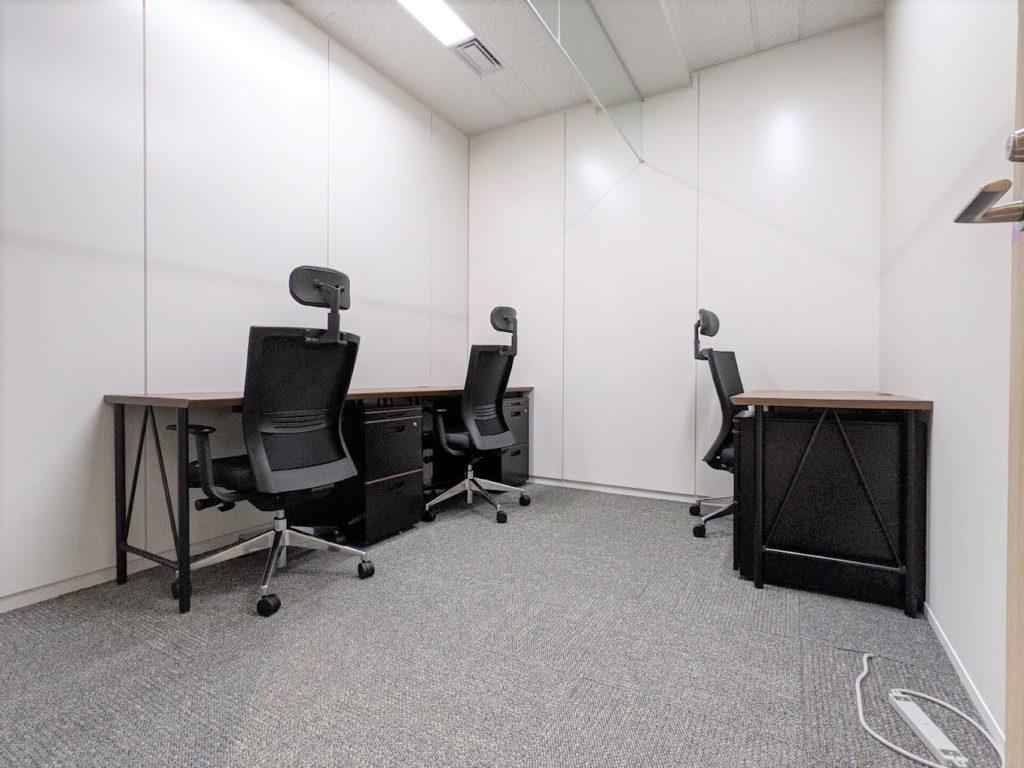 ビジネスエアポート日比谷_個室サービスオフィス_個室_3名