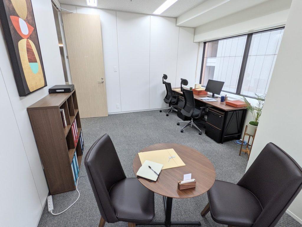 ビジネスエアポート日比谷_個室サービスオフィス_個室_4名