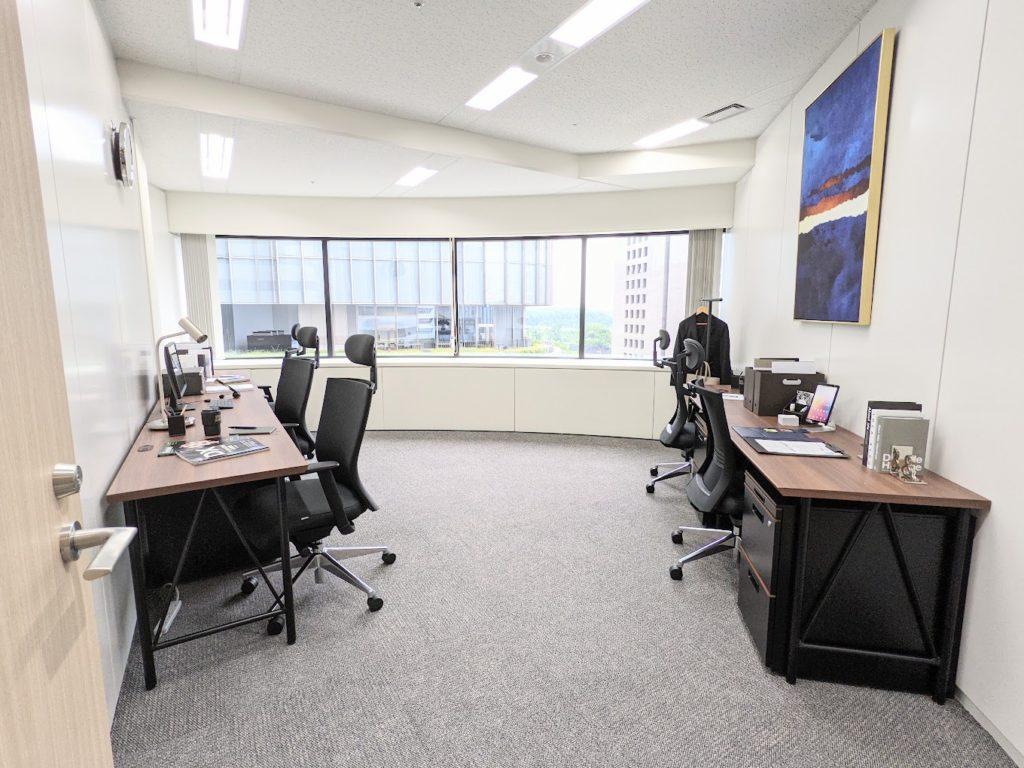ビジネスエアポート日比谷_個室サービスオフィス_個室_5名