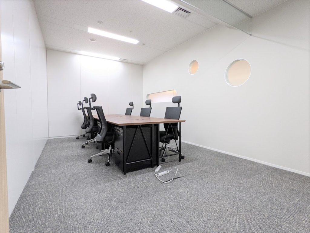 ビジネスエアポート日比谷_個室サービスオフィス_個室_6名