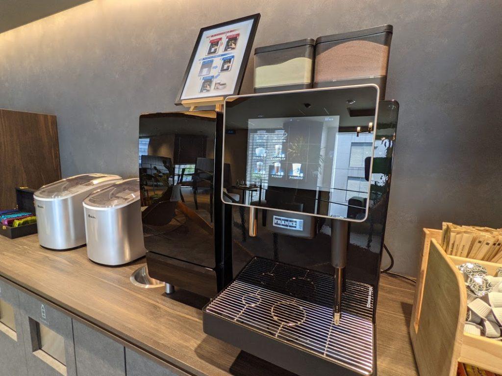 H¹O新大阪_コーヒーマシン