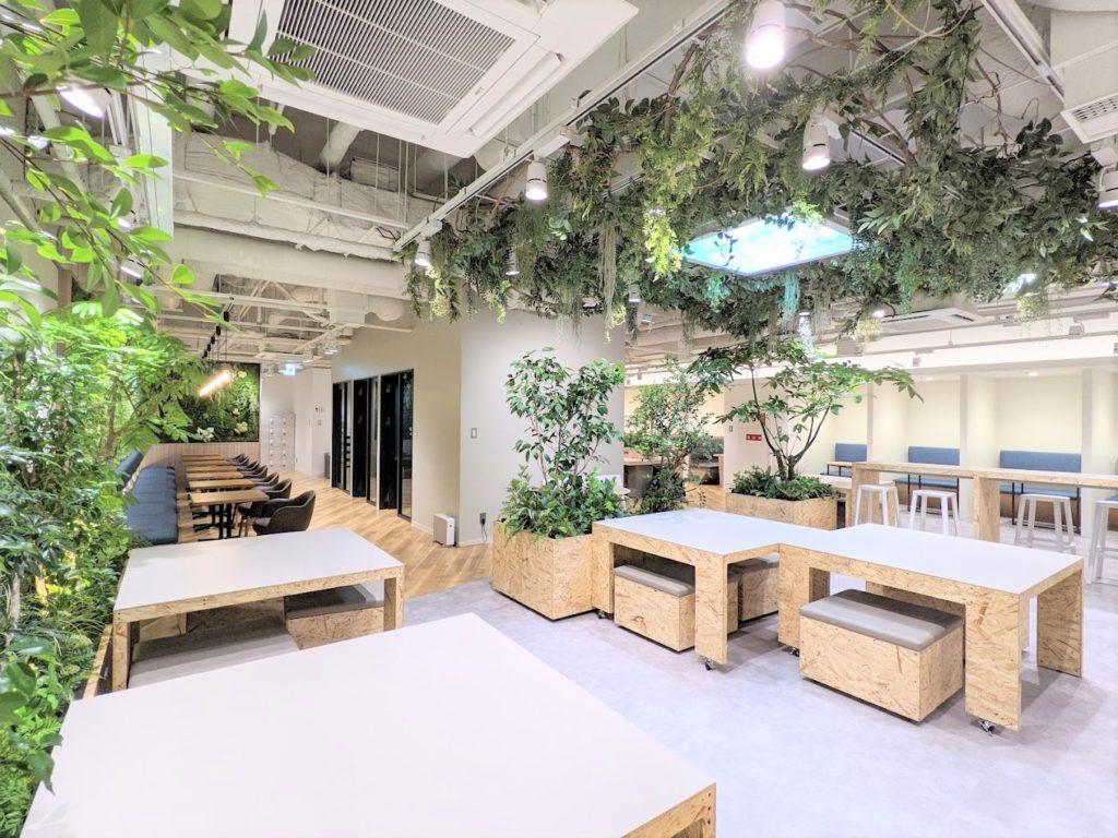 WORKING SWITCH ELK_エルク淀屋橋_コワーキングスペース_バイオフィリックデザイン