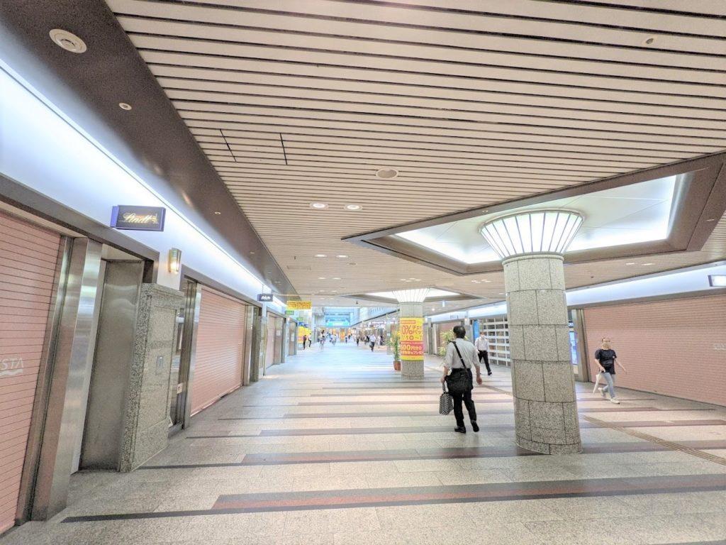 the hub 心斎橋_地下街クリスタ長堀