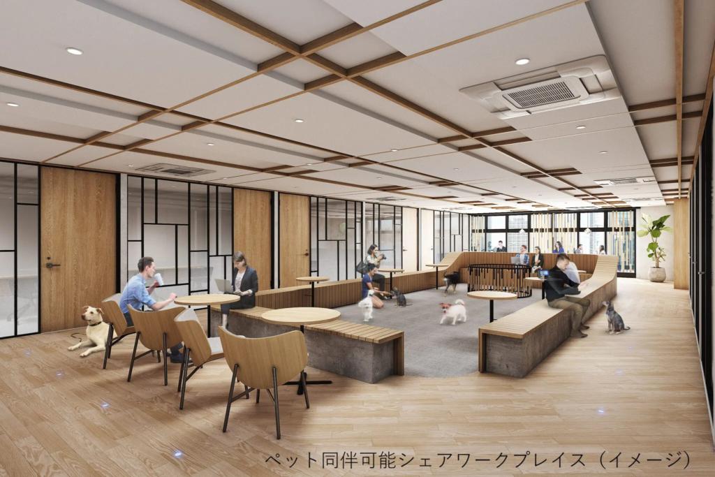 ビジネスエアポート京橋_ペット同伴可能_犬、猫_イメージ