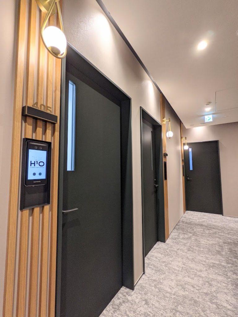 h1o麹町_貸室のドア